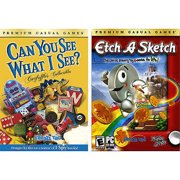 PC Game Bundle w/ Can You See and Etch A Sketch