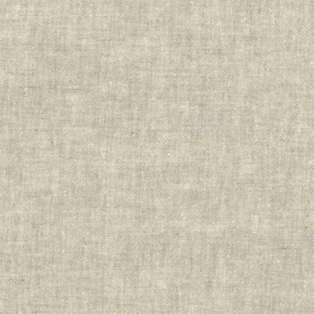 Essex Natural Flax Linen Fabric ~ 55% Linen 45% Cotton ~ 43