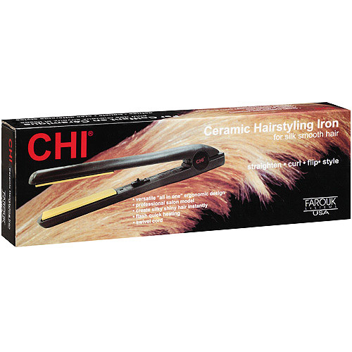 "CHI Ceramic 1"" Flat Iron by Farouk"