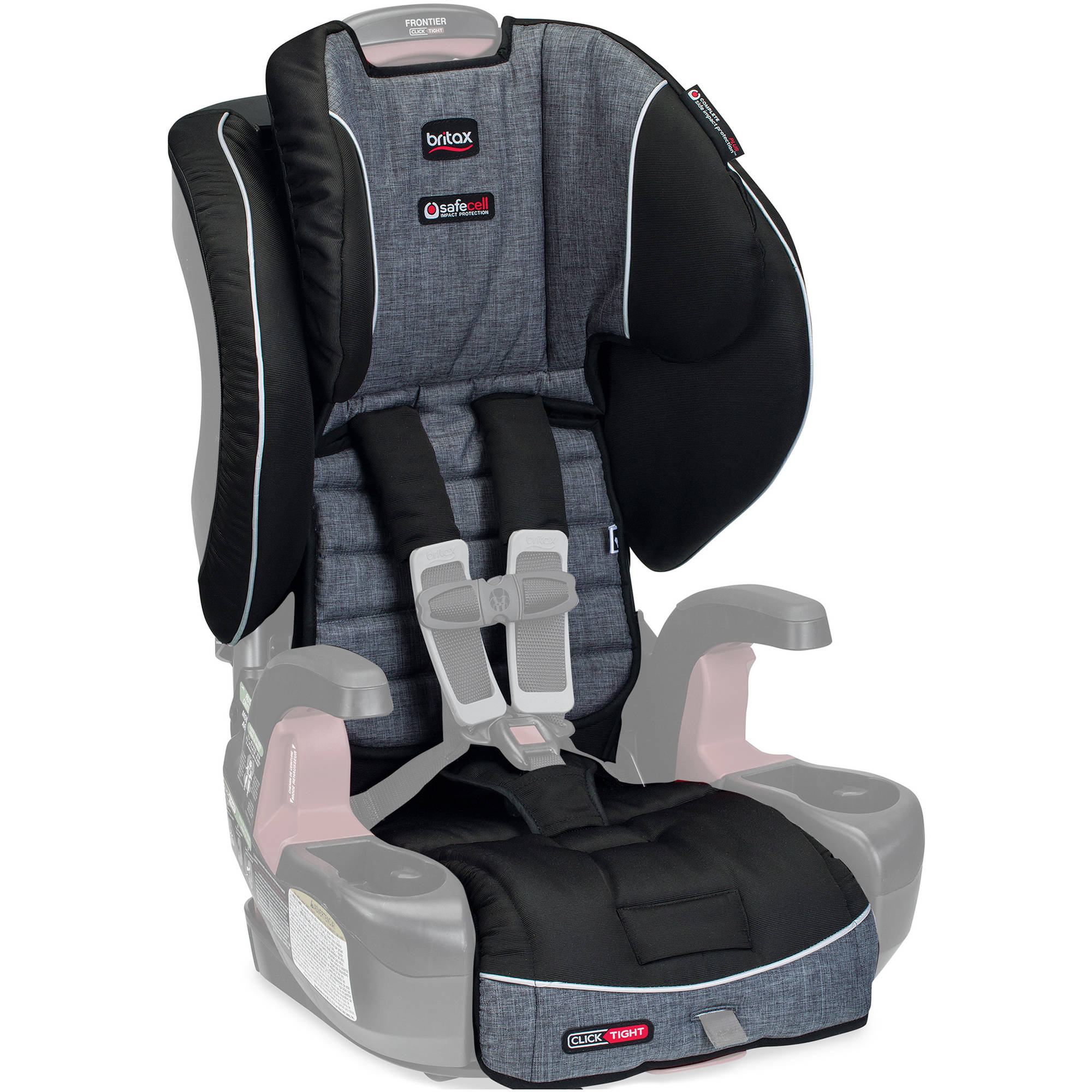 Britax Car Seat Cover Set, Frontier ClickTight Harness-2-Booster, Vibe