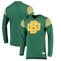 08b96d374da Product Image Green Bay Packers Mitchell & Ness Team Captain V-Neck Long  Sleeve T-Shirt