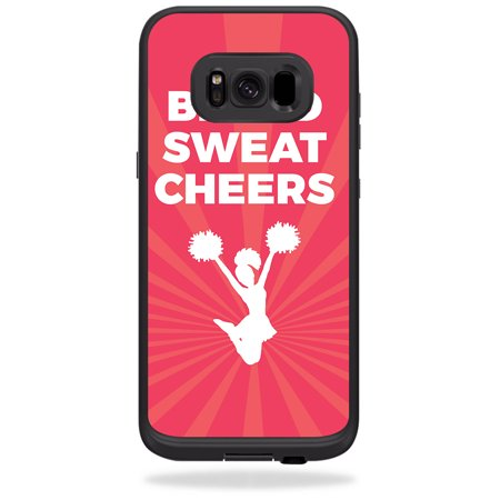 - Skin For LifeProof Samsung Galaxy S8 fre Case – Blood Sweat Cheers | MightySkins Protective, Durable, and Unique Vinyl Decal wrap cover | Easy To Apply, Remove, and Change Styles | Made in the USA
