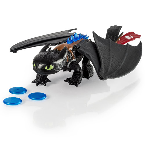 DreamWorks Dragons Deluxe Electronic Blast and Roar Toothless