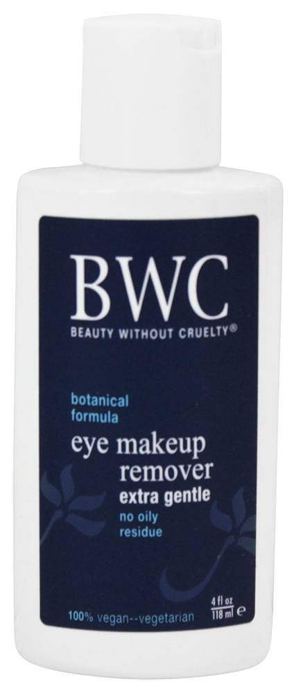 Beauty Without Cruelty - Eye Make-Up Remover Extra Gentle - 4 oz. (pack of 1) Beautifying Mask (salon Size)  200ml/6.7oz