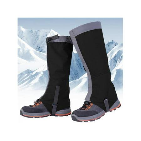 MarinaVida Mountain Hiking Hunting Boot Gaiters Waterproof Snow Snake High Leg Shoes Cover thumbnail