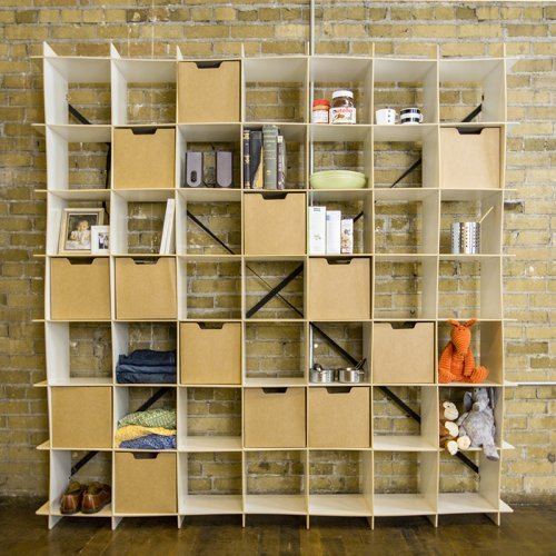 Sprout 49 Cube Wave Bookcase