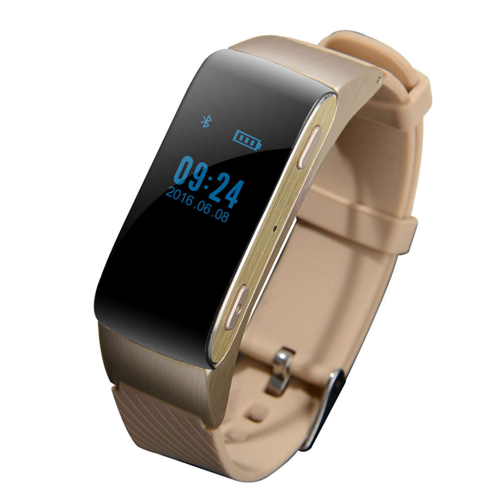 TechComm GX10 2-in-1 Fitness Tracker and Bluetooth Headset Call & Text