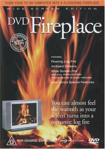 oreade music fireplace    dvd   walmart com
