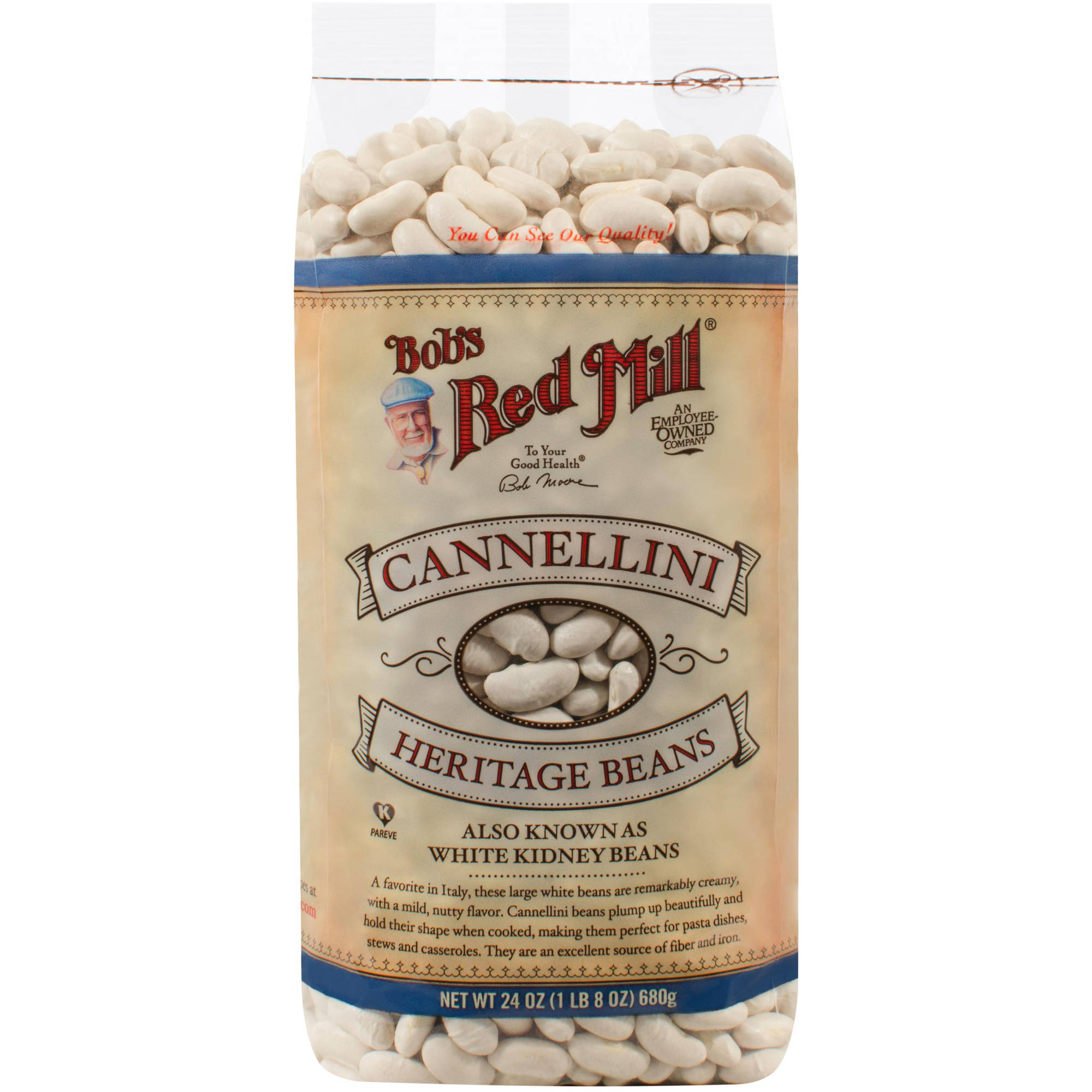 Bob's Red Mill Cannellini Beans, 24 oz (Pack of 4)