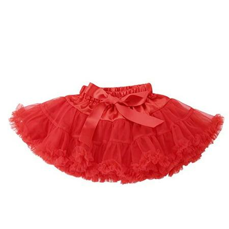 Baby Girls Princess Birthday Party Ballet Dance Tutu Pleated Skirt - Tutu Birthday Party