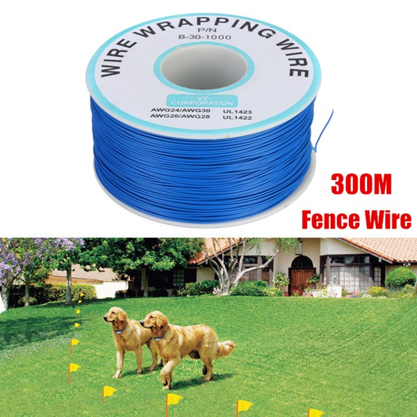 elegiant dog pet underground pet fence wire 300m 984ft cable for electric shock training