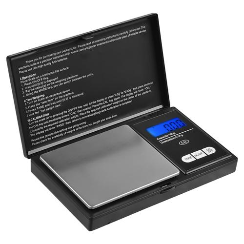 Insten Pocket Digital Scale 0.01 x 100g Jewelry Gold Silver Coin Gram Pocket Size Weight Herb with Stainless Steel Pan & LCD display (Supports 6 weighing modes :. g / oz / ozt / dwt / ct / gn)