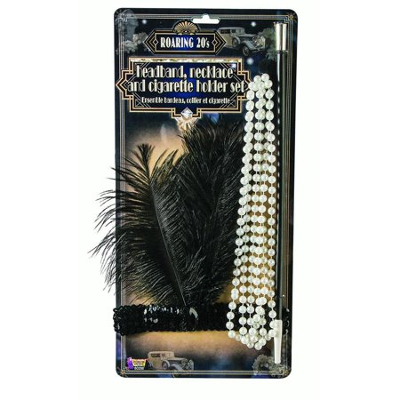 Flapper Womens Adult Roaring 20S Dancer Costume Accessory Kit