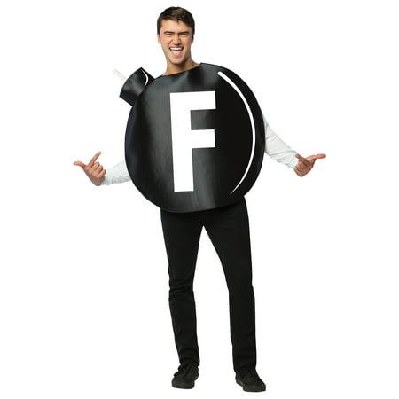 F Bomb Adult Costume - Jager Bomb Halloween