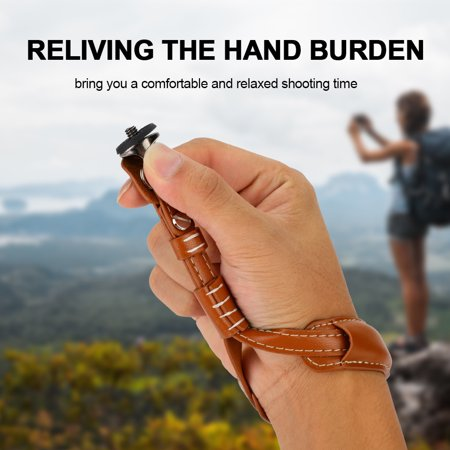 "TOPINCN Durable Wrist Strap Sling Lanyard with 1/4"" Mounting Base for DJI OSMO Mobile 2 Gimbal, Gimbal Wrist Strap, Gimbal Hand Strap"