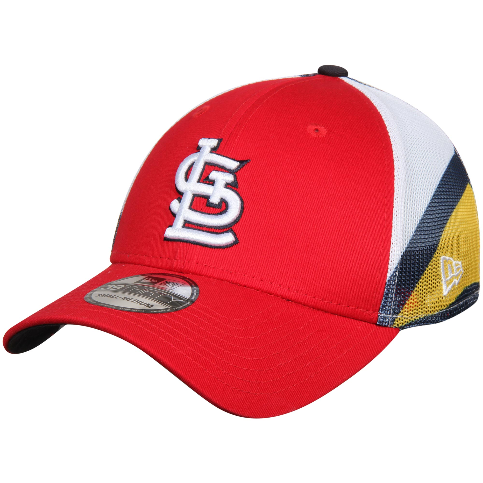St. Louis Cardinals New Era Logo Wrapped 39THIRTY Flex Hat - Red
