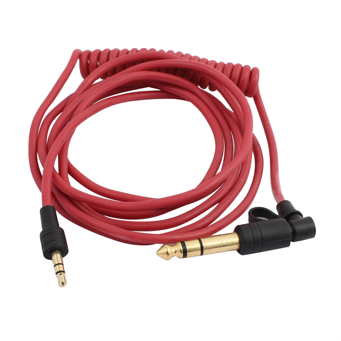 6ft 3 5mm Male To 3 5mm 6 5mm Male Audio Cable Aux Cord