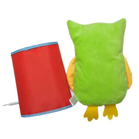 Novel Owl Plush Dress-up Toy Développement Intellectuel Early Educational Kindergarten Teaching Aid Set 4 PCS Per Set - image 7 de 9