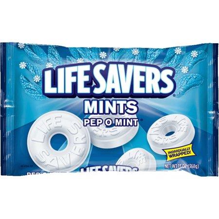 Life Savers Pep O Mint Candy Bag  13 Ounce