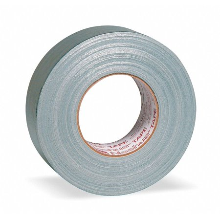 Industrial Duct Tape, 48mm X 55m, 11.00 mil Thick, Metallic Coated Cloth, 1 EA