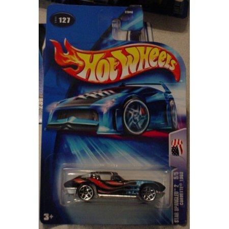 Hot Wheels Corvette 1963 Star Spangled 2 5/5 #127 2004