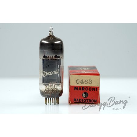 Vintage Marconi 6463/CC86E/CV5304/E86CC Twin Triode Computer Valve - BangyBang Tubes
