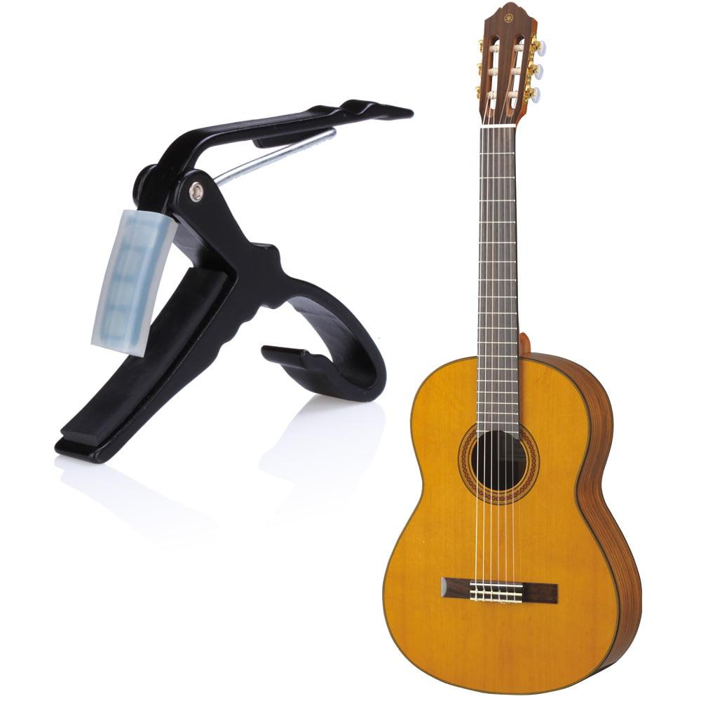 Guitar Capo Acoustic Single-Handed Quick Change Key ...
