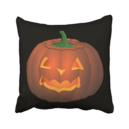 WinHome Decorative Pillowcases Halloween Pumkin Throw Pillow Covers Cases Cushion Cover Case Gifts Lantern Decor Sofa 18x18 Inches Two Side](Halloween Pumkin Carving Ideas)