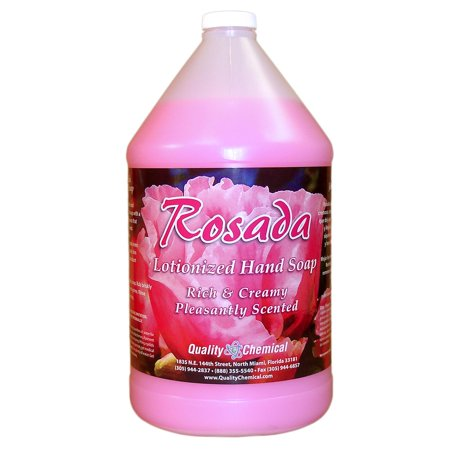 Rosada Pink Lotionized and Concentrated Hand Soap - 1 gallon (128