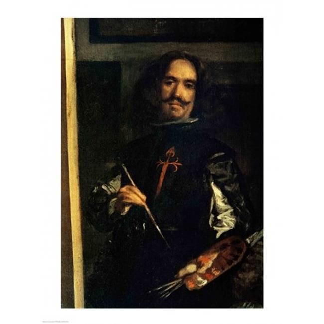 Posterazzi BALXIR218730LARGE Las Meninas Poster Print by Diego Velazquez - 24 x 36 in. - Large - image 1 de 1