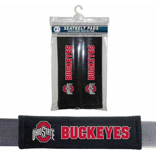 NCAA Ohio State Velour Seat Belt Pads