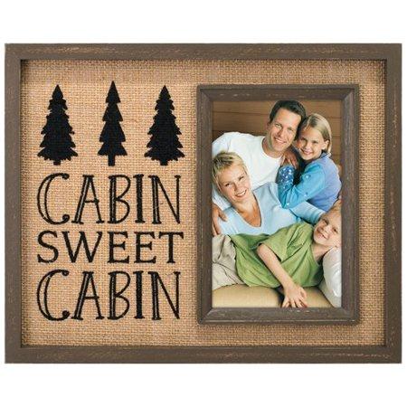 Malden Cabin Sweet Cabin Vertical Picture Frame ()