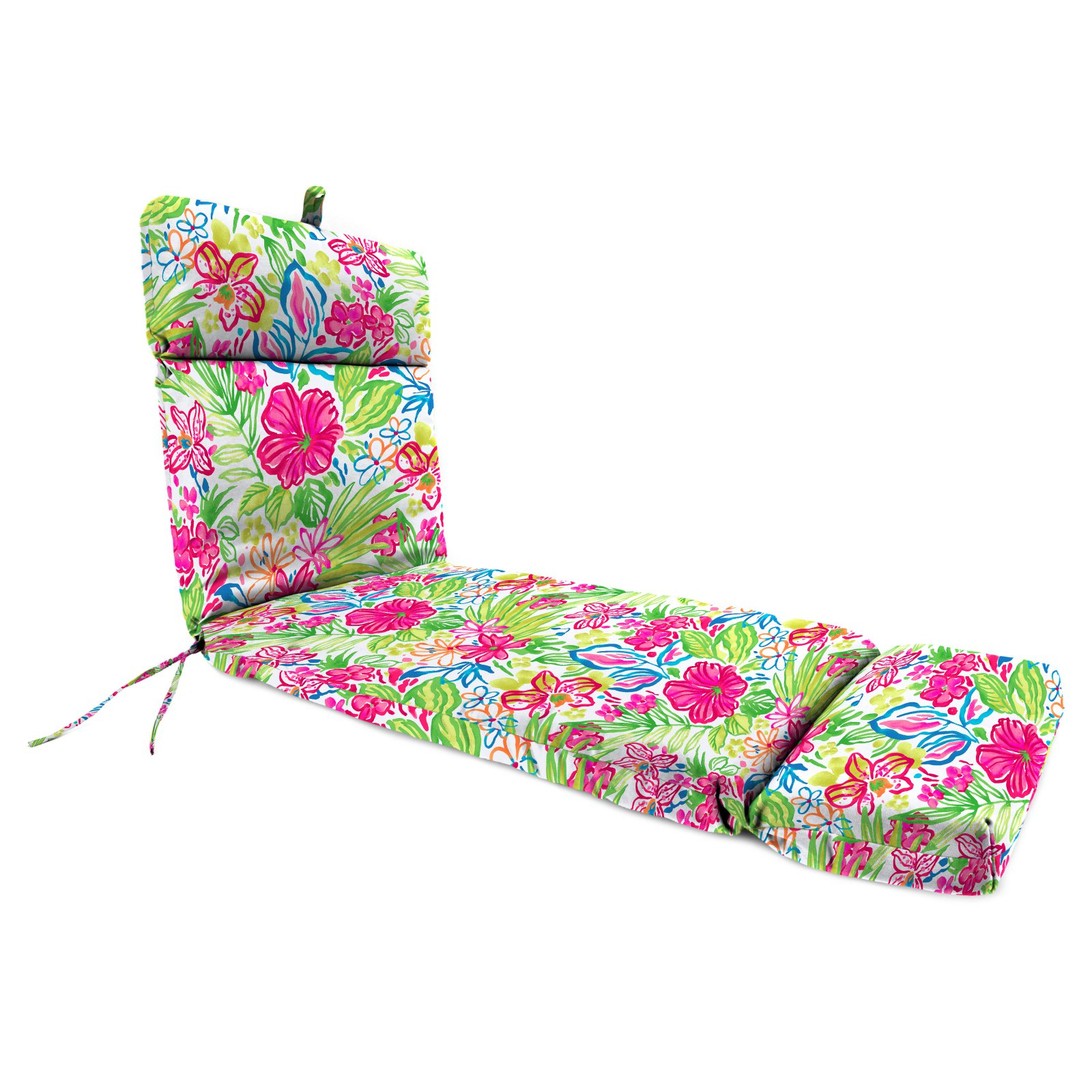 Jordan Manufacturing 72 in. Outdoor Valeda Chaise Cushion