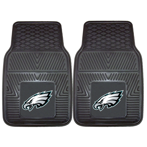 "Philadelphia Eagles 2-pc Vinyl Car Mats 17""x27"""