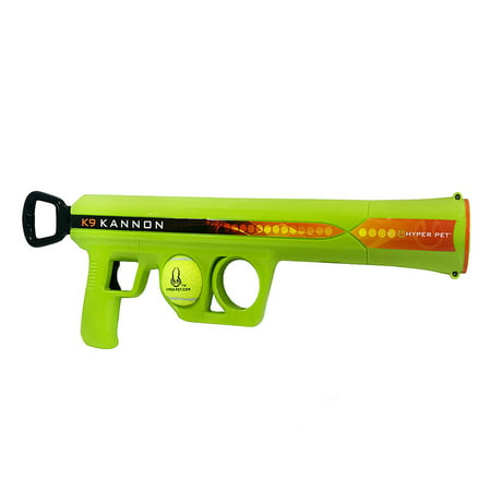 Hyper Pet K9 Kannon K2 Ball Launcher Interactive Dog Toys (Load and Launch Tennis Balls for Dogs To Fetch)