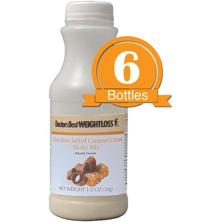 Doctors Best Weight Loss High Protein Diet Shake Salted Caramel
