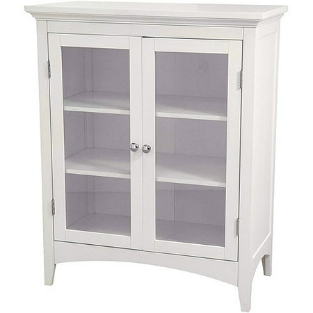 Classy Collection Double Door Floor Cabinet White