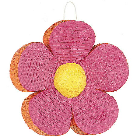 Pink Daisy Flower Pinata for $<!---->
