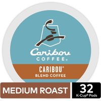 Caribou Coffee Caribou Blend K-Cup Pods, Medium Roast, 32 Count for Keurig Brewers
