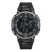 Men's Digital Sport Watch, Black, Resin Strap