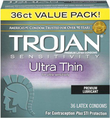 Her Pleasure Ecstasy Ultrasmooth Lubricant,10-count, Ecstasy NEW Sensations 26 Condom Premium Count Lubricant10count Ribbed of Smooth Ultrasmooth Pack UltraSmooth EA.., By Trojan