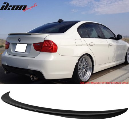 Fits 06-11 BMW 3 Series E90 PERFORMANCE Style ABS Trunk Spoiler