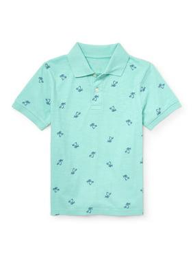 The Children's Place Short Sleeve Novelty Print Polo Shirt (Little Boys & Big Boys)