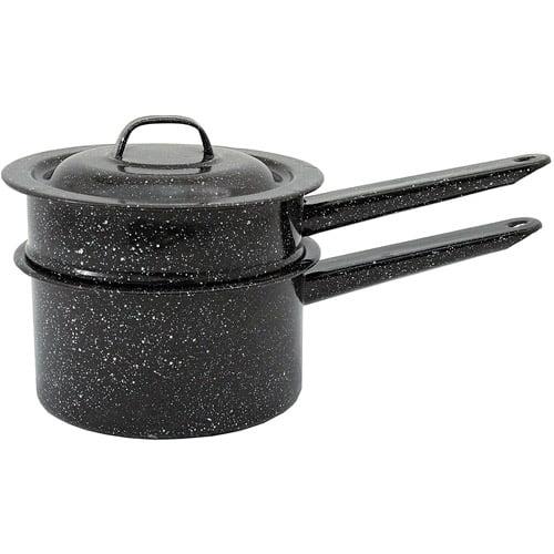 Granite Ware Double Boiler Pot, 1.5-Qt