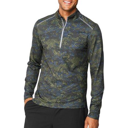 Hanes - Sport Men s Performance Quarter-Zip Pullover - Walmart.com 6e14441ae0f0