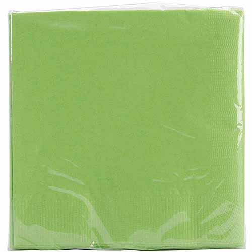 Creative Expressions Beverage Napkins - 50-Pack, White
