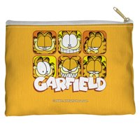 Garfield Comic Animated Cartoon TV Series Faces Accessory Pouch