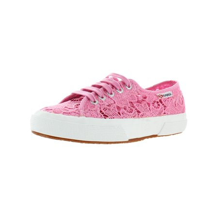 Superga Womens 2750 Macrame Low-Top Sneakers