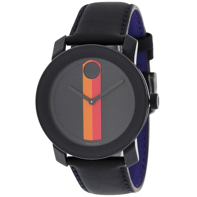 3600231 Movado Bold Leather Unisex Watch
