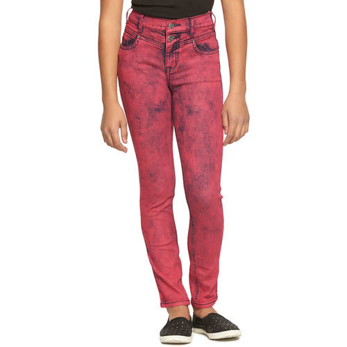 LEI Girls' High Rise Skinny Jean